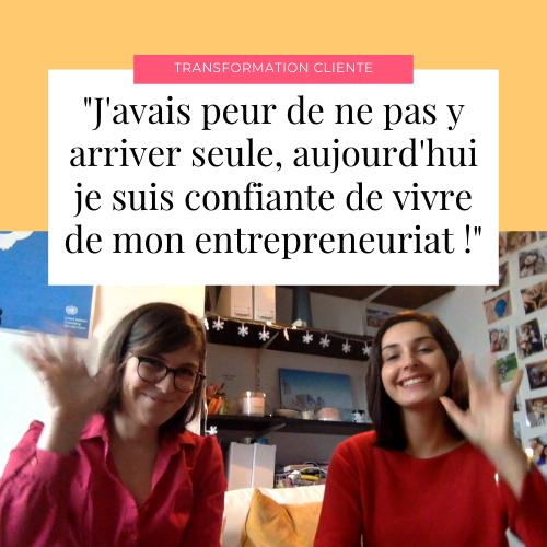 Elsa Michel, de l'entrepreneuse débutante à l'entrepreneuse confiante