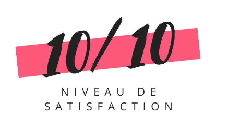 satisfation 10