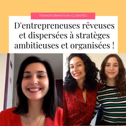 Candice et Jennifer, d'entrepreneuses rêveuses à stratèges ambitieuses !