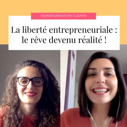Barbara Ludin - La liberté entrepreneuriale : le rêve devenu réalité !