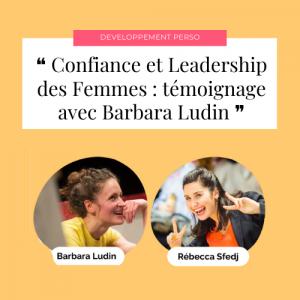 Confiance et Leadership des Femmes